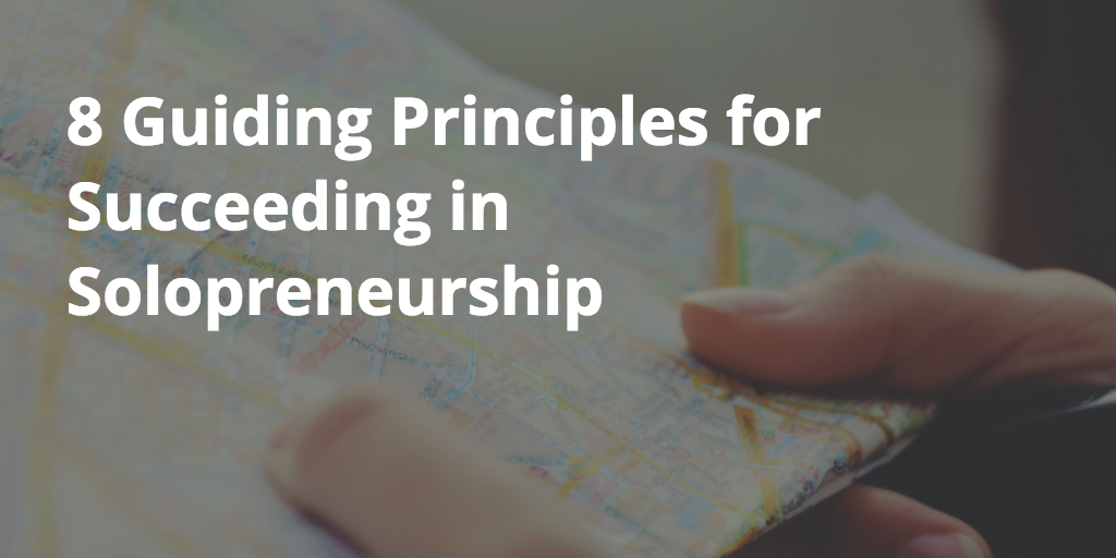 8 guiding principles for success in business