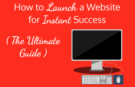 how to launch a website