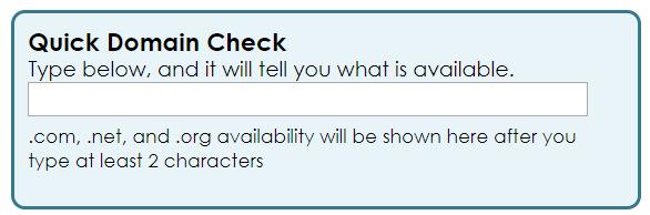 domain check